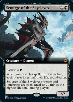 The Gathering Magic * Zendikar Rising Scourge of the Skyclaves Foil