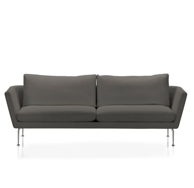 Sofa, uld, 3 pers., Vitra suita 3 pers. sofa med hylde…