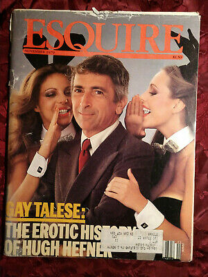 Esquire Magazine November 1979 Gay Talese Hugh Hefner Ebay