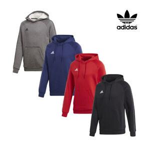 Détails sur Adidas Pull à Capuche Hommes Coeur 18 Sweat Haut Entraînement à Taille