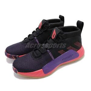 Adidas Dame 5 Cbc Black Purple Damian Lillard Mens Basketball Shoes Ee4058 Ebay