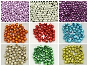 200-Pcs-3D-Illusion-Acrylic-Miracle-Round-beads-8mm-Spacer-Color-for-Choice