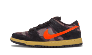Nike DUNK LOW PREMIUM SB Black Team orange Green Discounted (451) Men's shoes