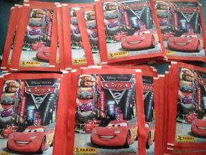 2 x cars disney pixar panini sticker packs