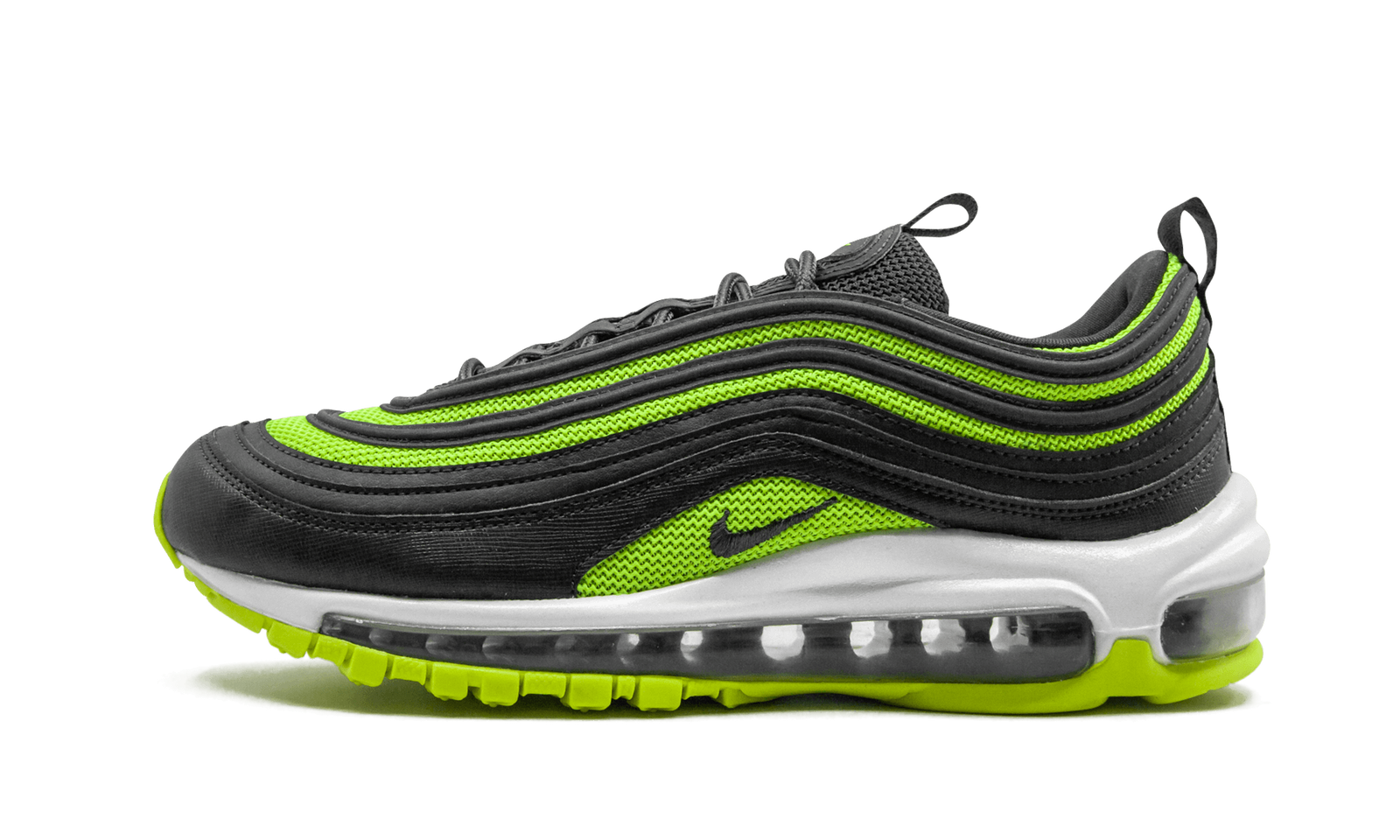 Womens Nike Air Max 97 Running Shoes Anthracite Volt Size 6