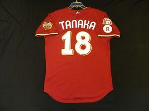 brand new b18bf f0e39 Details about Authentic Masahiro Tanaka Japan Tohoku Rakuten 2013 Champions  Jersey Yankees 40