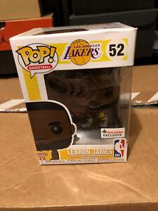 Funko Pop NBA Lakers Lebron James  52 Yellow Jersey Foot Locker ... 75b81e312
