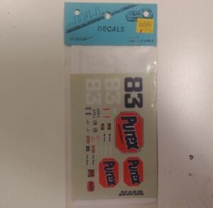 #83 Lake Speed Purex Olds 1//24th 1//25th Scale Waterslide Decals
