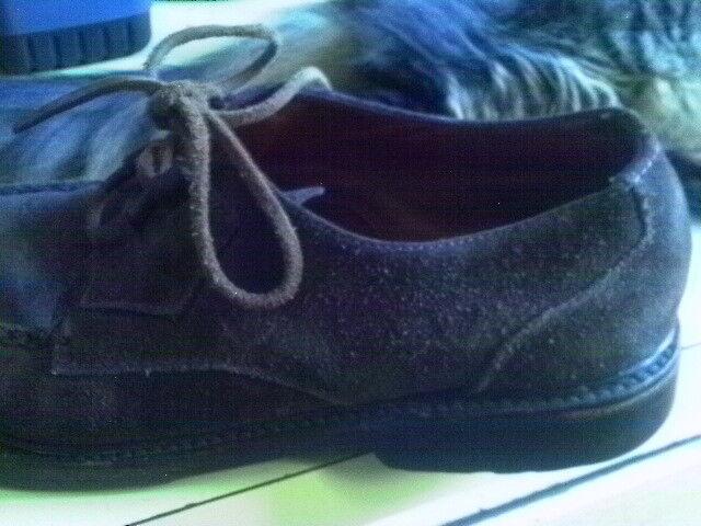 Polo Ralph Lauren suede suede suede scarpe Uomo Dimensione 10 DESIGNER 1980'S a6d8d2