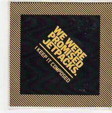 (FL353) We Were Promised Jetpacks, I Keep It Composed - 2014 DJ CD