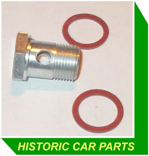 FUEL PUMP Inlet or Outlet Pipe Bolt /& Sealing Washers for MGB Roadster 1964-76
