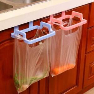 Cupboard Door Back Trash Rack Storage Garbage Bag Holder Hanging Kitchen Cabinet Ebay