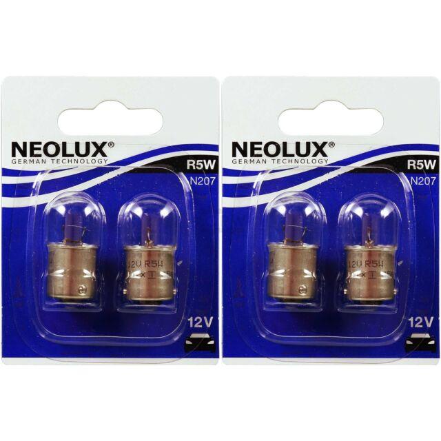 NEOLUX R5W 12V  5W  BA15s N207  BULB  PACK OF 10 BULBS