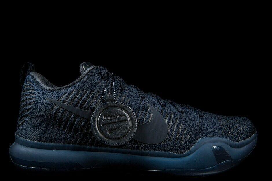 Nike Nike Nike Kobe 10 X Elite FTB Fade to Black Size 14. 869458-441 jordan kd 79b273