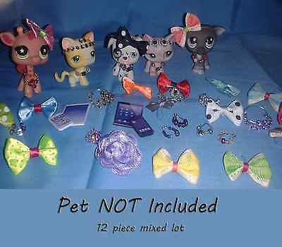 pet not included Details about  /Littlest Pet Shop Clothes /& Accessories LPS outfit Lot #65