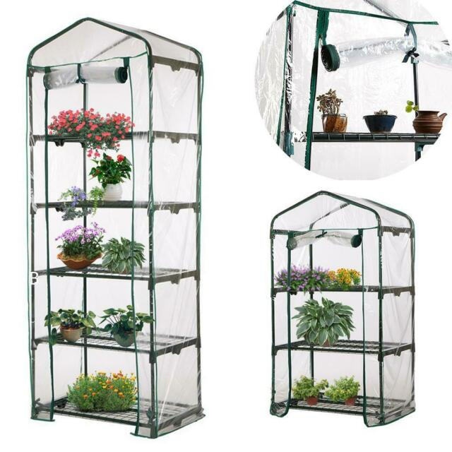 Outdoor Garden Plant Mini Greenhouse Heavy Duty Cover Greenhouses Cold Fram