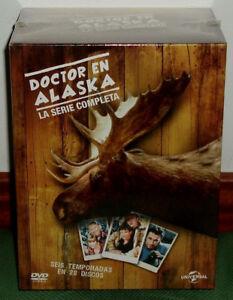 DOCTOR EN ALASKA LA SERIE COMPLETA 1-6 TEMPORADAS 28 DVD NUEVO (SIN ABRIR) R2