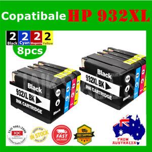 8X-Ink-Cartridge-HP932XL-932XL-933XL-932-For-HP-6100-6600-6700-7610-7612-GIX85A