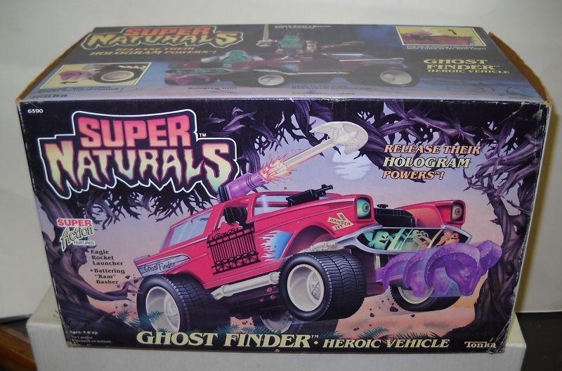 863 NRFB Vintage Tonka Super Naturals Ghost Finder Heroic Vehicle
