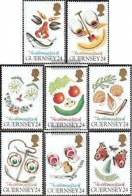 United Kingdom-guernsey 662-669 (complete Issue) Unmounted Mint / Never Hinged 1 Curing Cough And Facilitating Expectoration And Relieving Hoarseness