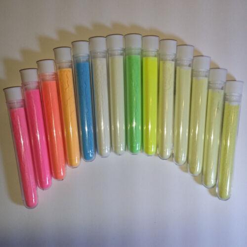 25g GELB 200 Pigment für Farbe bastel Nacht Nachtleuchtfarbe Tisch Epoxid Harz