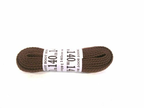 Dark Brown Flat shoe or boots laces By Truka 99p