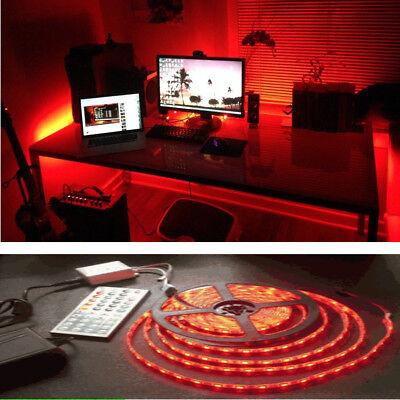 Gaming Computer Desk Led Light Kit Office Home Lighting Remote Control 2 5 5m Ebay
