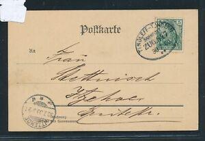 30303) Bahnpost Ovalstempel Tingleff-tondern Train 847, Ak Guerrier Monument 1900-afficher Le Titre D'origine