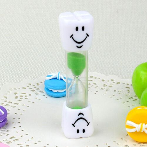 SMILE TOOTH Sand Timer Toothbrush Toys 2//3 Minutes Dental Hygiene Brushing