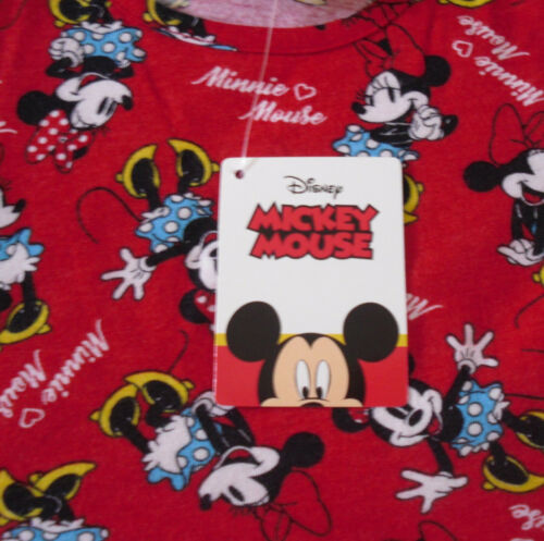 Filles Robe Disney Minnie Mouse Rouge