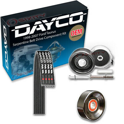 For Ford Taurus 1998-2007 Dayco Demanding Serpentine Drive Belt Component Kit
