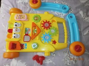 Baby-walker-baby-039-s-first-novelty-toy-activity-centre-wheels-musical-detachable