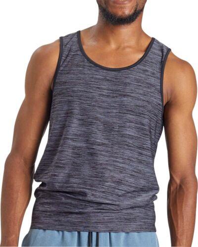 Ohmme Vajra II Mens Yoga Vest Grey Soft Sleeveless Tank Top Gym Training Workout
