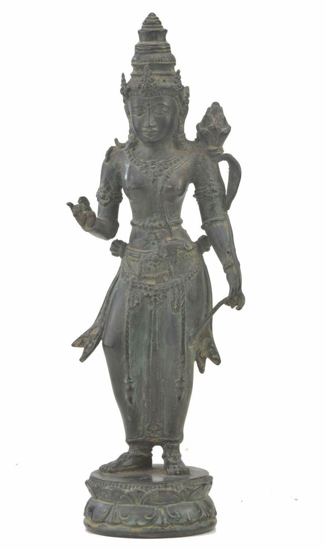 Shiva Buddha 28cm aus einer Bronze Legierung Tara