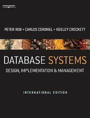 Database Systeme International Edition Hybrid Carlos Coronel Peter Rob