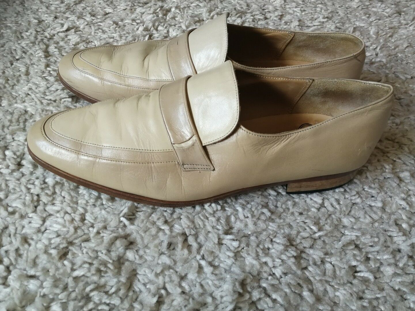 Mens Leather Rombah & Co Wallace shoes size 8.5
