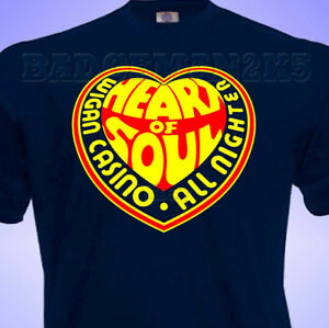 Wigan-Casino-HEART-OF-SOUL-Northern-Soul-SKA-Mens-S-to-3xL-Cotton-T-Shirt