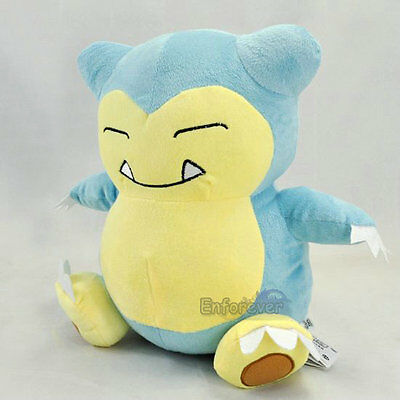 "Pokemon GO 12"" Snorlax Rare Plush Soft Toy Doll^PC1968"