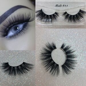 082c7ffa89c 3D Tapered Volume Premium Silk Thick Long False Eyelashes US SELLER ...