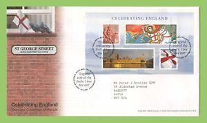 Conjunto-de-Graham-Brown-2007-celebrando-Inglaterra-Royal-Mail-primer-dia-cubierta-tallents-House