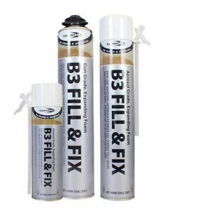 Expanding Foam Fix And Fill Aerosol Grade B3 PU BOND IT Foam spray