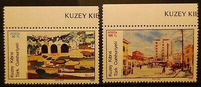 181-182 Briefmarken Tütkisch Zypern Postfrisch Minr Satz 2 Werte M Dauerhafte Modellierung 1327 B...