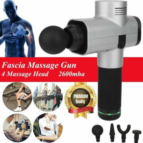 2019 Upgrade Percussive Vibration Therapy Massage Gun Athlete Sports Recovery DE