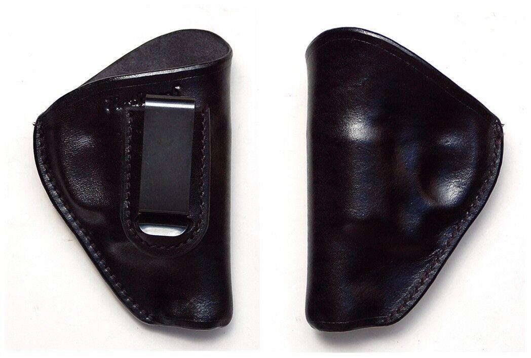 Turtlecreek Leder IWB Holster Smith & Wesson Model 38 642 MOD60 -RH Fixed Clip