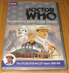 Doctor-Who-DVD-The-Greatest-Show-in-the-Galaxy-SEALED
