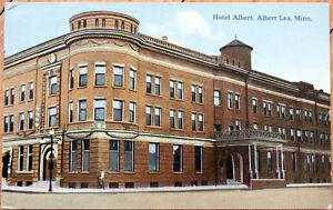 Image Is Loading 1914 Postcard Hotel Albert Lea Minnesota Mn