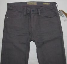 Guess Men Jeans 36 W x 32 Lincoln Chronicle Wash Iron Grey Brand New with Tags