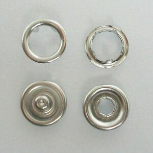 Details about METAL SNAP FASTENERS PRESS-STUDS POPPERS, Approx 9 5mm ,  NICKEL FREE
