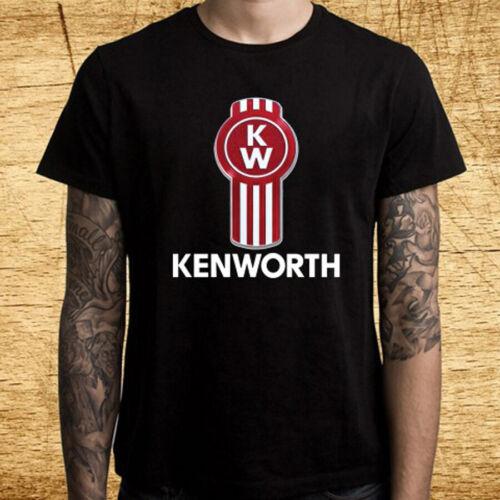 Kenworth Trucker Trucks Logo Men/'s Black T-Shirt Size S M L XL 2XL 3XL