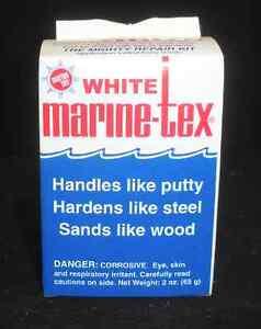 Marine-Tex Epoxy Putty Repair Kit White 2 oz. with 4 ...